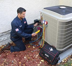 Jake is part of our plumbing team that repairs AC units