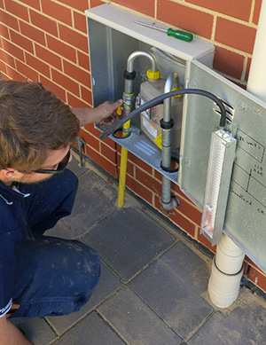 fixing a gas line is part of our plumbing in Woodbridge services